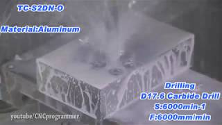 CNC 4 axis crazy fast aluminum machining