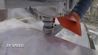 CNC Milling Corian Sheets with Harvey Tool End Mills