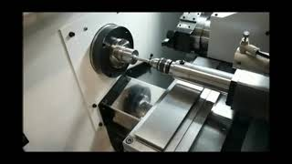 XKNC- 20GT gang tool CNC lathe with tail stock with turret