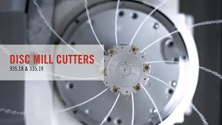 335.18 and 335.19 Disc Mill Cutters From Seco Tools
