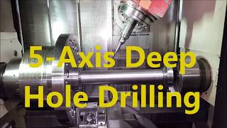 Complex 5 Axis Drilling on a Mori Seiki
