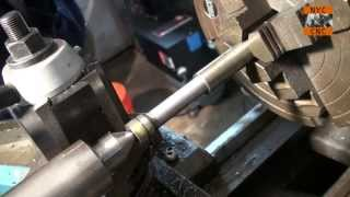 Turning & Machining a Boring Bar out of O1 Tool Steel! Part 1