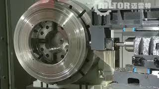 Mltor CNC Single Spindle With 5-Axises Tire Mold Gun Drilling Machine