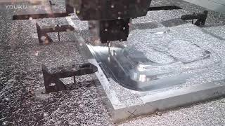 The Most Advanced CNC Milling Machine Processing Video