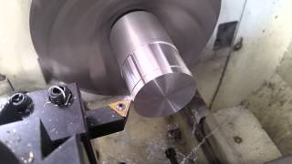 Turning Down Some 1 3/4″ Aluminum on the Lathe