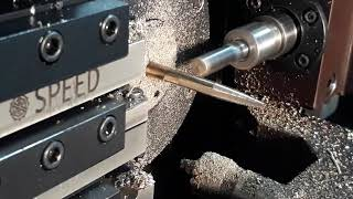 CNC SLIDING HEAD MACHINES- BRASS MATERIAL TAPER TURNING AND POLYGOAN TURNING