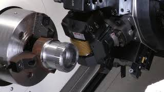 Highly Productive Manufacturing of Gears with CNC Turning Centers