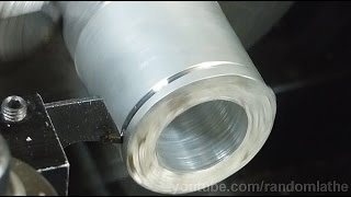7×16 Mini Lathe – inverted carbide circular saw for parting blades (reverse direction) – part 2