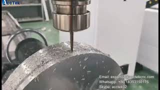 AccTek CNC router 4 axis rotary axis & CNC milling machine for aluminum