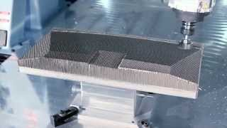 Honeycomb Demo for Aerospace Machining – DMS 5 Axis CNC Machining Center
