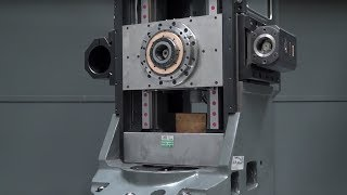 We've never seen a milling column on a lathe like this