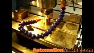 Mold Maker ZX6060 CNC Router Milling Metal Cut Engrave by Automation Maker