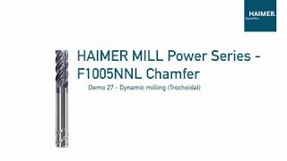 Dynamic Milling with HAIMER