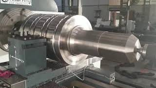 Roll turning CNC lathe machine Tirupati CNC products