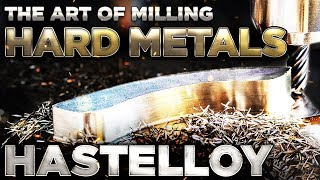 The art of milling HASTELLOY. Aerospace CNC machining. Vlog #90