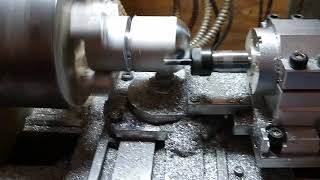Turning Aluminum Ball with a Milling Spindle