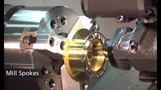 Amazing Making Fidget Spinner And Fishing Reel By CNC Machine