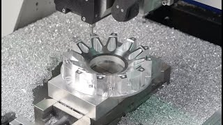 Amazing Precision CNC Milling Lathe Machine In Working – Metal CNC Technology