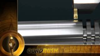 Quad Rush – Grooving & Parting Off Inserts