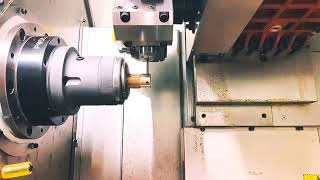 SNK CNC Turning & Milling Compound Turret Type Machine with Power Head