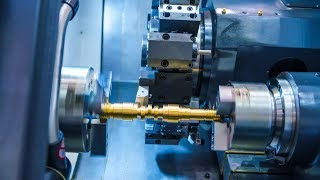 Extreme High Precision CNC Lathe Milling Machines, Modern CNC Machine Metal Cutting