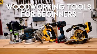 5 Must-Have Woodworking Tools For Beginners DIY