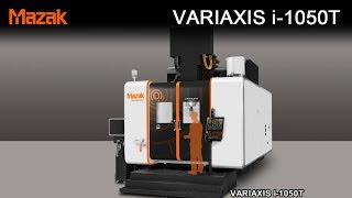 VARIAXIS i-1050T: Aerospace Component Machining