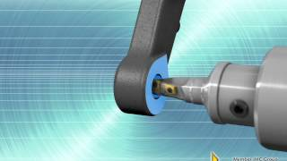 Steering Knuckle – Milling, Drilling & Conical Drilling