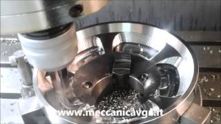 High speed CNC milling on 316L Stainless Steel