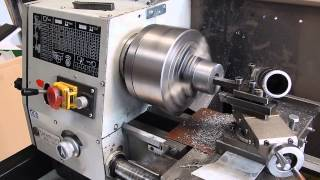 Using a carbide boring bar on a cheap Chinese lathe