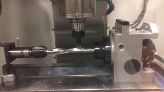 Helical Milling on a CNC with a 4th Axis