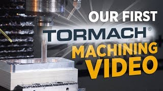 Our First TORMACH CNC Machining Video