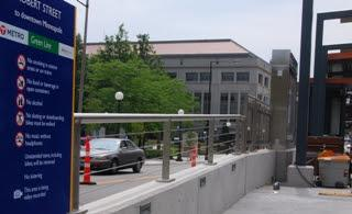 Stainless Steel Cable Railing for Light Rail Train Stations