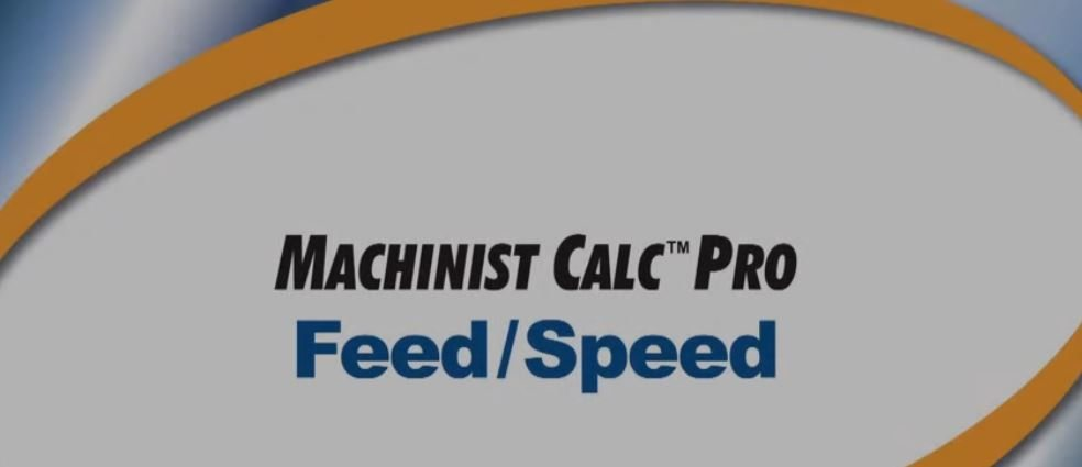 Machinist Calc Pro Feed and Speed