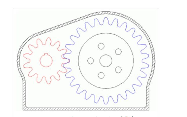 How to calculate a gear ratio