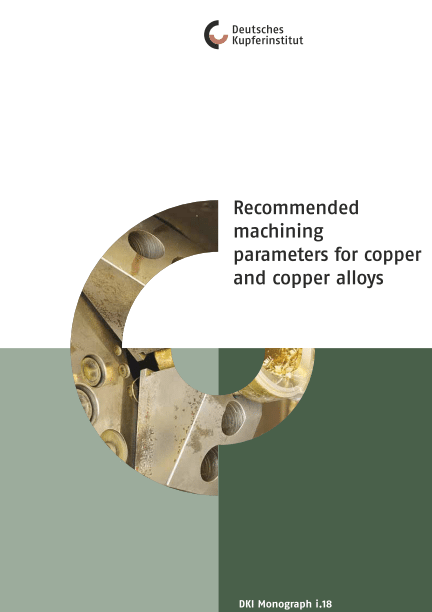 Machining Data for Cooper and its Alloys