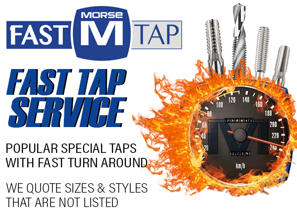 MORSE Cutting Tools Fast Tap Service | Cutting Vision